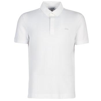 Kleidung Herren Polohemden Lacoste PARIS POLO REGULAR Weiss