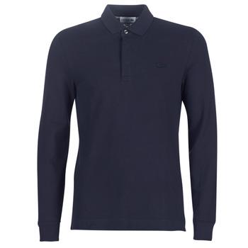 Kleidung Herren Langärmelige Polohemden Lacoste PH2481 REGULAR Marine