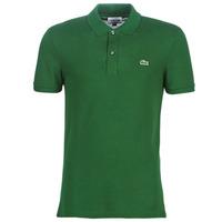 Kleidung Herren Polohemden Lacoste PH4012 SLIM Grün