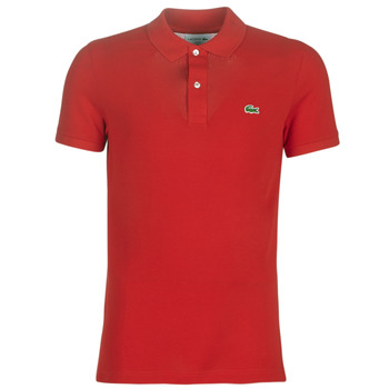 Kleidung Herren Polohemden Lacoste PH4012 SLIM Rot