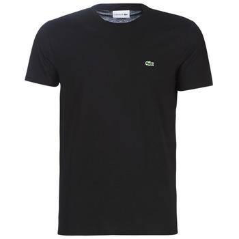 Kleidung Herren T-Shirts Lacoste TH6709 Schwarz