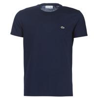 Kleidung Herren T-Shirts Lacoste TH6709 Marine