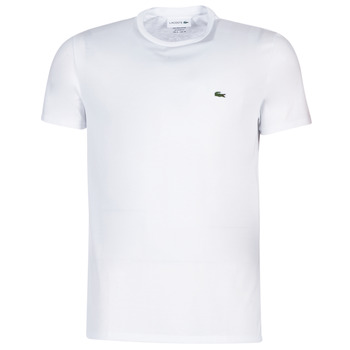 Kleidung Herren T-Shirts Lacoste TH6709 Weiss