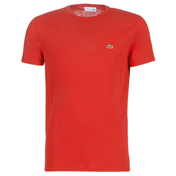 Kleidung Herren T-Shirts Lacoste TH6709 Rot
