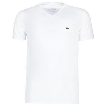 Kleidung Herren T-Shirts Lacoste TH6710 Weiss