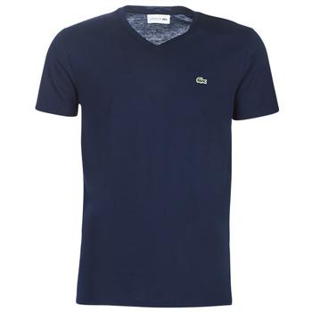 Kleidung Herren T-Shirts Lacoste TH6710 Marine