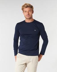 Kleidung Herren Langarmshirts Lacoste TH6712 Marine