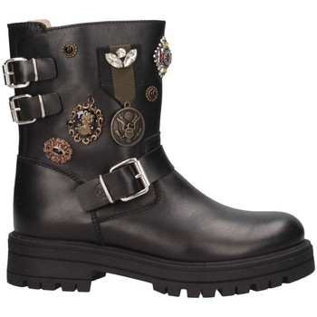 Schuhe Mädchen Low Boots Florens F656189V NERO Stiefeletten Kind schwarz schwarz