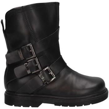Schuhe Mädchen Low Boots Florens E543189V NERO Biker Kind schwarz schwarz