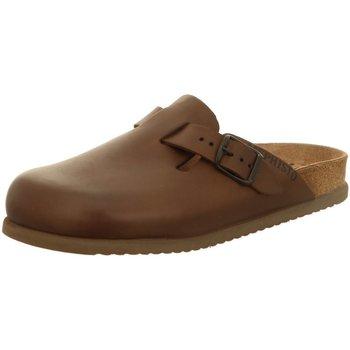 Schuhe Herren Pantoletten / Clogs Mephisto Offene Nathan 3451 Nathan 3451 braun