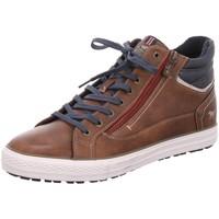 Schuhe Herren Boots Mustang Schnuerschuhe Boots 4129502-3 braun