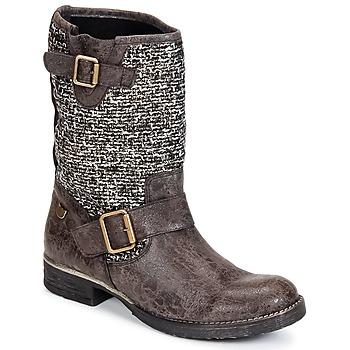 Schuhe Damen Boots Lollipops VICTOIRE BOOTS 3 Schokolade