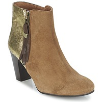 Schuhe Damen Low Boots Lollipops VEGA BOOTS 1 Braun / Gold
