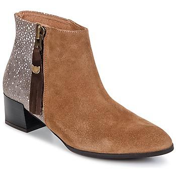 Schuhe Damen Boots Lollipops VOILA BOOTS 1 Beige