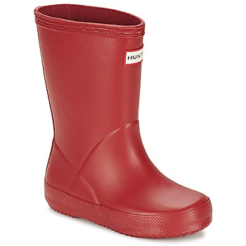Schuhe Kinder Gummistiefel Hunter KIDS FIRST CLASSIC Rot