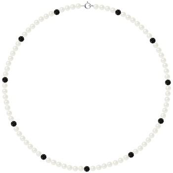 Uhren & Schmuck Damen Collier Blue Pearls BPS K061 W Multicolor