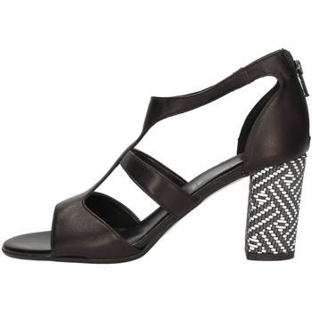 Schuhe Damen Sandalen / Sandaletten Linea Uno A-F686SP BLACK