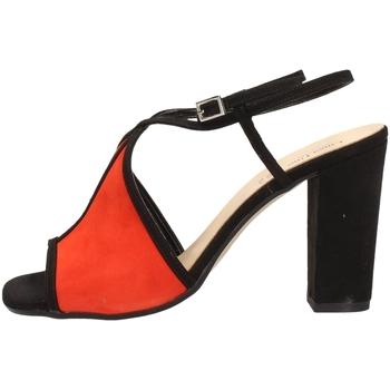 Schuhe Damen Sandalen / Sandaletten Linea Uno A-F418SP BLACK