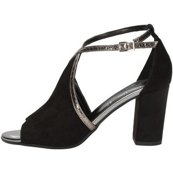 Schuhe Damen Sandalen / Sandaletten Linea Uno A-F165SP BLACK