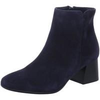 Schuhe Damen Low Boots Paul Green Stiefeletten 9609-055 blau