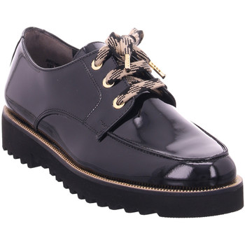 Schuhe Damen Derby-Schuhe & Richelieu Paul Green Schnürer Schwarz/Gold 02