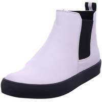 Schuhe Damen Boots Caprice Woms Boots WHITE NAPPA