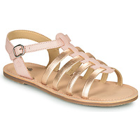 Schuhe Mädchen Sandalen / Sandaletten Citrouille et Compagnie MAYANA Rose / Goldfarben