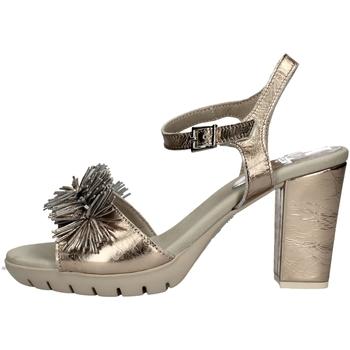 Schuhe Damen Sandalen / Sandaletten CallagHan 99109 PLATINUM