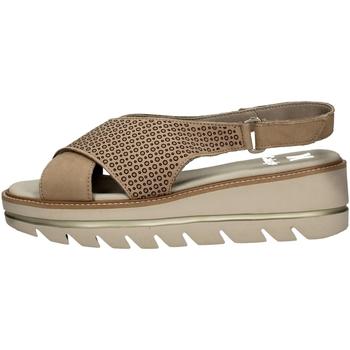Schuhe Damen Sandalen / Sandaletten CallagHan 22704 BEIGE
