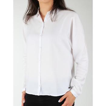 Kleidung Damen Hemden Wrangler Damenhemd  Relaxed Shirt W5213LR12 weiß