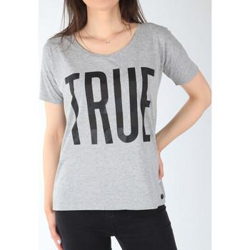 Kleidung Damen T-Shirts Lee T-Shirt  Ultimate Tee L42JEP37 grau