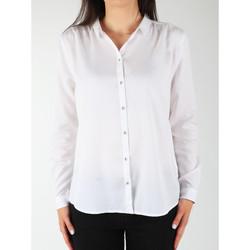 Kleidung Damen Hemden Wrangler Damenhemd  L/S Relaxed Shirt W5190BD12 weiß