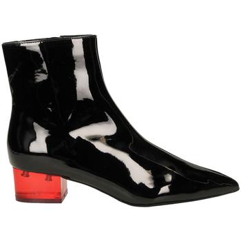 Schuhe Damen Ankle Boots Jeffrey Campbell JCS LUMINOUS PATENT blare-nero-rosso