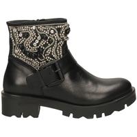 Schuhe Damen Low Boots Tosca Blu KIRUNA c99-nero