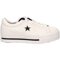 Schuhe Damen Sneaker Low All Star ONE STAR PLATFORM OX whibl-bianco-nero