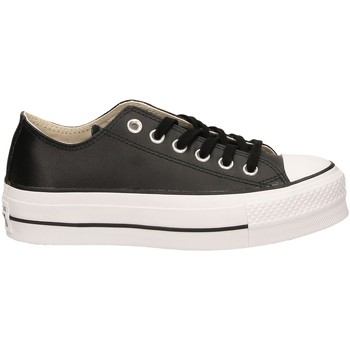 Schuhe Damen Sneaker Low All Star CTAS LIFT CLEAN OX blawh-nero-bianco