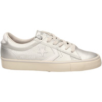 Schuhe Damen Sneaker Low All Star PRO LEATHER VULC OX silwh-argento-bianco