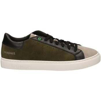 Schuhe Herren Sneaker Low Womsh SNIK milta-verde-marrone