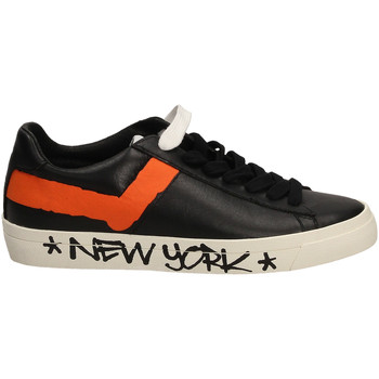 Schuhe Herren Sneaker Low Pony TOP STAR OX whibl-bianco-nero