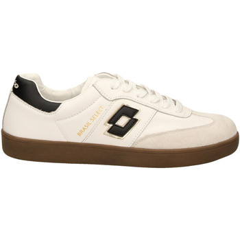 Schuhe Herren Sneaker Low Lotto BRASIL SELECT LTH whibl-bianco-nero
