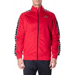Kleidung Herren Sweatshirts Kappa BANDA ANNISTON SLIM c52-nero-rosso