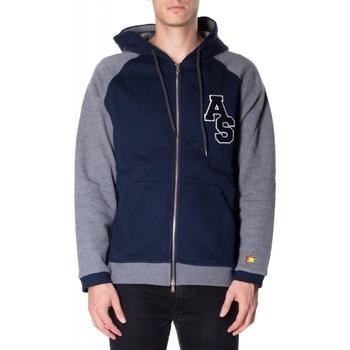 Kleidung Herren Sweatshirts Atlantic Star Apparel FELPA col-2-blu-grigio