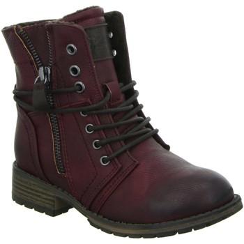 Schuhe Mädchen Boots Supremo Schnuerstiefel 1661111,bordo 1661111 rot