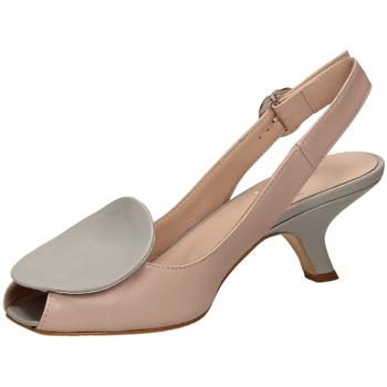 Schuhe Damen Sandalen / Sandaletten Mivida NAPPA argen-argento