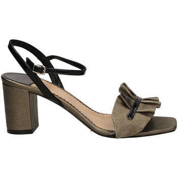 Schuhe Damen Sandalen / Sandaletten The Seller BERG.WASH cfune-grigio-nero