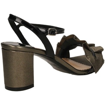 The Seller BERG.WASH cfune-grigio-nero - Schuhe Sandalen / Sandaletten Damen 8750
