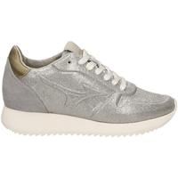 Schuhe Damen Sneaker Low Mizuno SAIPH 2 GLITTER WOS silgr-verde-argento