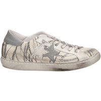 Schuhe Damen Sneaker Low 2 Stars LOW FANTASI REFLEX biane-bianco-nero