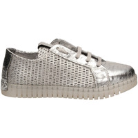 Schuhe Damen Sneaker Low Andia Fora BET GLOSSY argen-argento