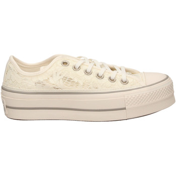 Schuhe Damen Sneaker Low All Star CTAS CLEAN LIFT OX whimo-bianco-grigio
